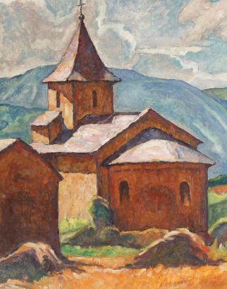 Camil Ressu - Peisaj transilvănean