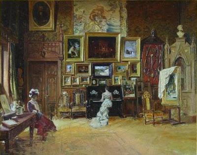 Theodor Aman - Atelierul din Paris al artistului