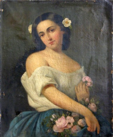 Mișu Popp - Fata cu flori