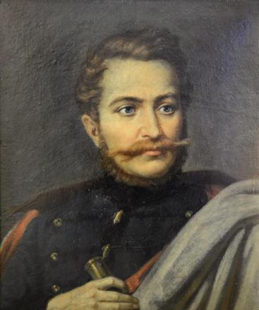 Mișu Popp - Portretul lui Avram Iancu.