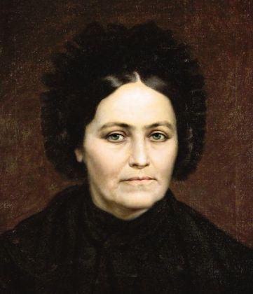 Mișu Popp - Portretul mamei pictorului.