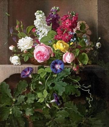 Otto Didrik Ottesen - Floral Still Life