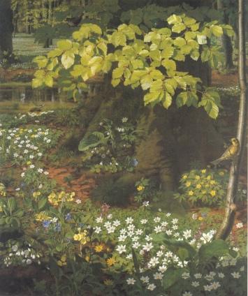 Otto Didrik Ottesen - Spring in Charlottenlund