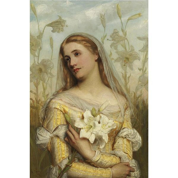 Gustav Pope - Lilies