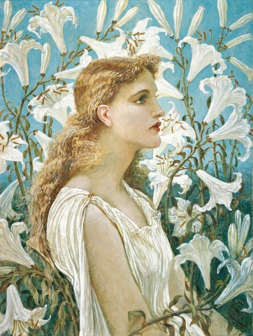 Walter Crane - Lilies