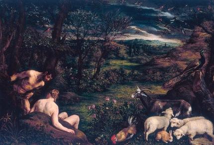 Jacopo Bassano - Paradiso terrestre ca 1573