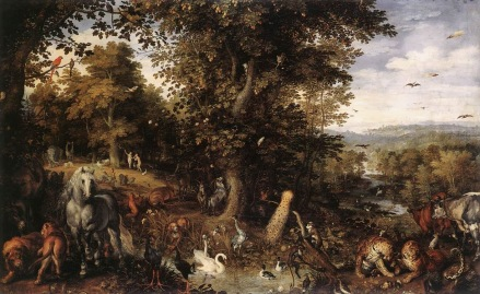 Jan Breughel the Elder - Garden of Eden