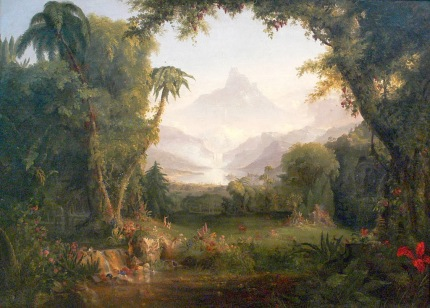 Thomas Cole - The Garden of Eden
