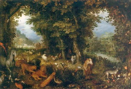 Jan Breughel the Elder - Earth (The Earthly Paradise)