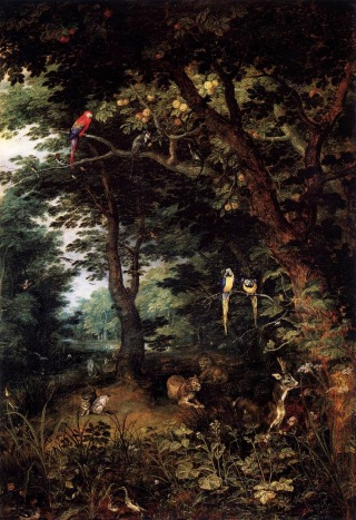 Jan Breughel the Elder - The Earthly Paradise