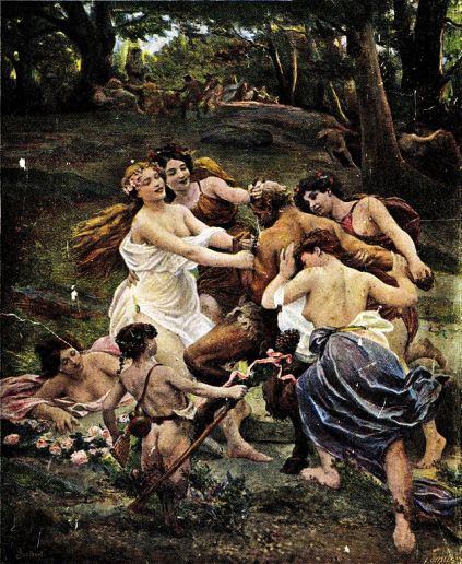 Jules Scalbert - Nymphs and Satyr