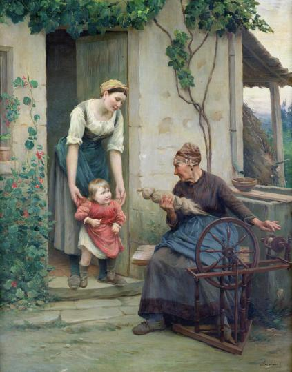 Jules Scalbert - The Three Ages