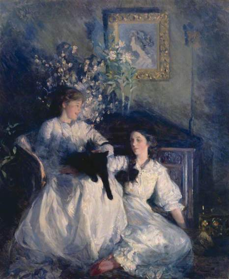 Frank Bramley - Confidences