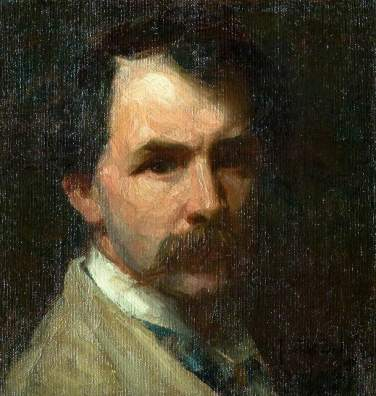 Frank Bramley - Self-Portrait