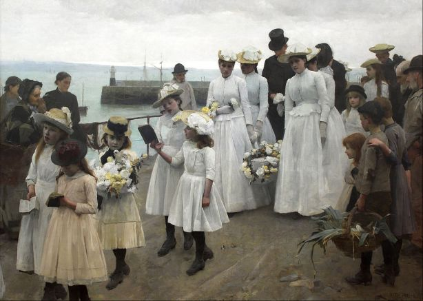 Frank Bramley - For of Such is the Kingdom of Heaven