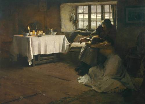 Frank Bramley - A Hopeless Dawn