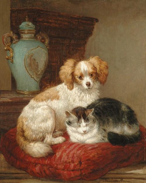 Henriette Ronner-Knip - Best of friends