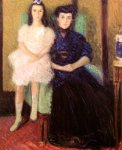 Richard Gerstl - Mother and Daughter, 1906