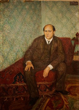 Richard Gerstl - Portrait of Arnold Schönberg