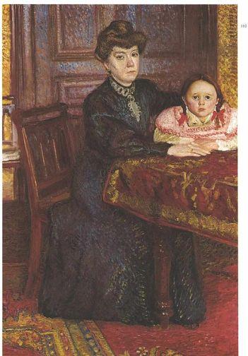 Richard Gerstl - Portrait of Mathilde Schönberg