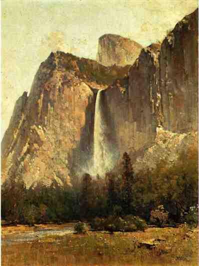 Thomas Hill - Bridal Veil Falls - Yosemite Valley