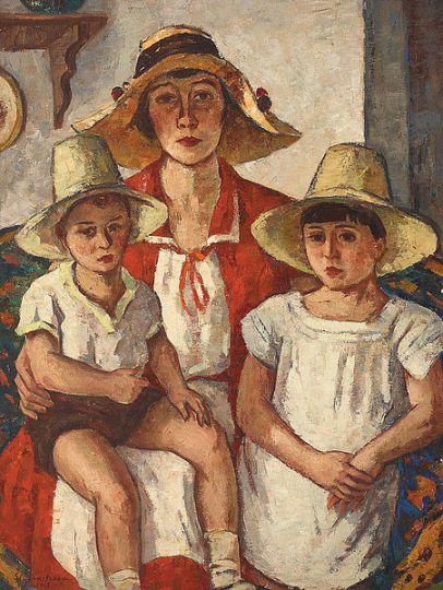 Ștefan Dimitrescu - Mama cu copii