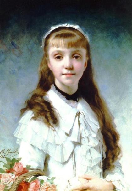 Charles Joshua Chaplin - La Fille Du Peintre, 1881