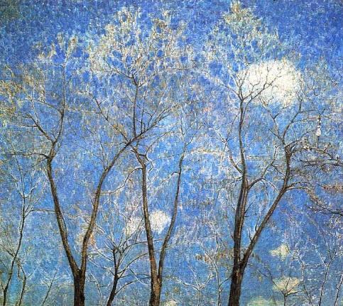 Mikhail Larionov - Acacias In Spring
