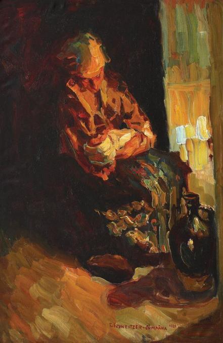 Rudolf Schweitzer-Cumpăna - Maternitate
