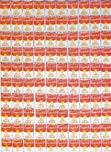 Andy Warhol - 100 Cans, 1962