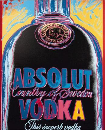Andy Warhol - Absolut Vodka, 1986