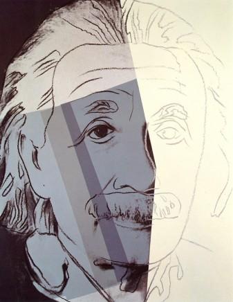 Andy Warhol - Albert Einstein, 1980
