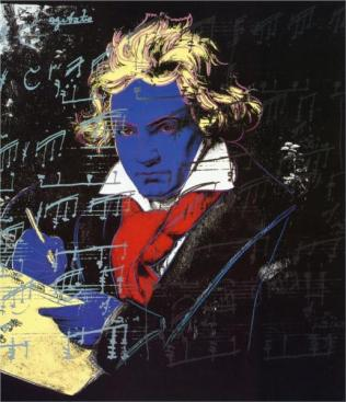 Andy Warhol - Beethoven, 1987