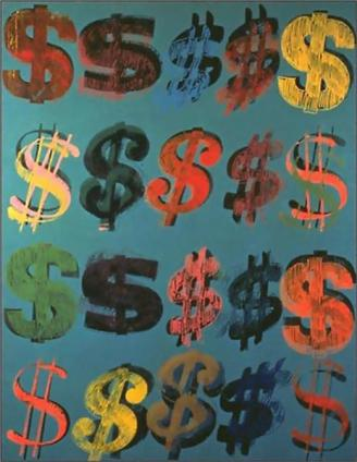 Andy Warhol - Dollar Sign