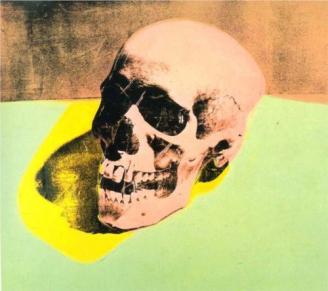 Andy Warhol - Skull, 1976
