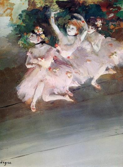 Edgar Degas - Three Ballet Dancers