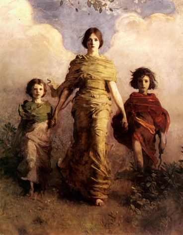Abbott Handerson Thayer - A Virgin