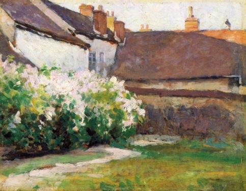 Robert Vonnoh - Afternoon Shadows, Grez, France