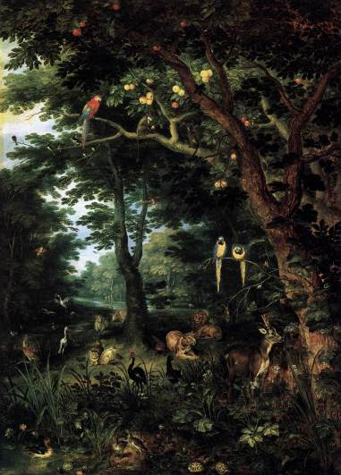 Jan Brueghel the Younger - Paradise