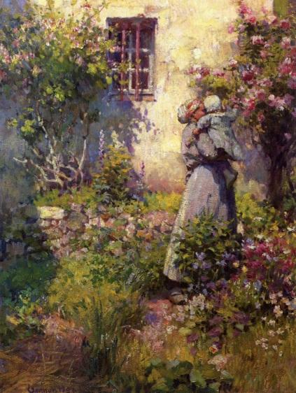 Robert Vonnoh - Peasant's Garden