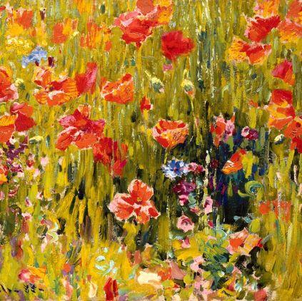 Robert Vonnoh - Poppies 1888