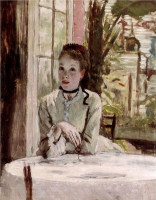 James Tissot - A Woman in an elegant Interior