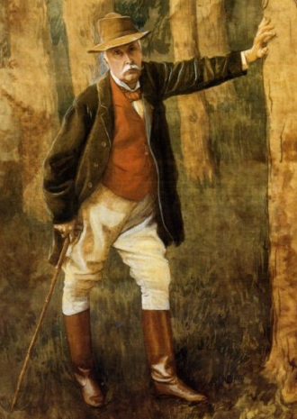 James Tissot - Self Portrait (1898)