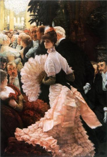 James Tissot - The Political Lady