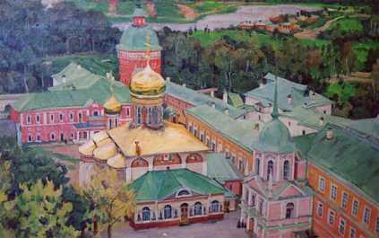 Konstantin Yuon - Trinity Church