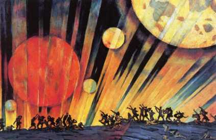 Konstantin Yuon - New Planet 1921