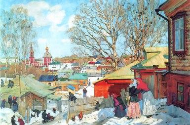 Konstantin Yuon - Sunny Day