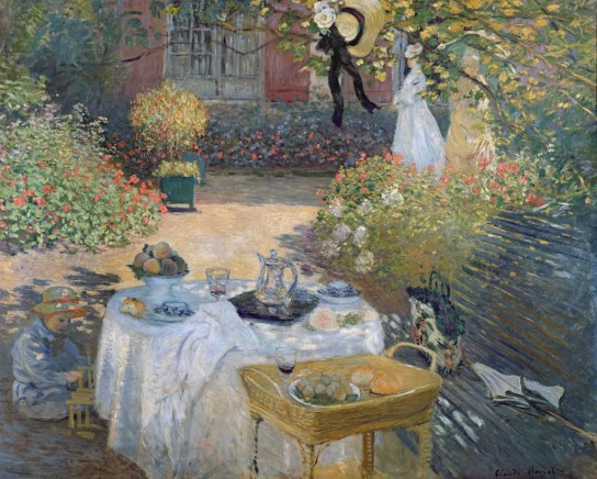 Claude Monet - The Luncheon (Monet's Garden At Argenteuil)