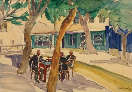 Nutzi Acontz - Cafeneaua lui Mamut