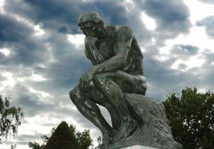 Auguste Rodin-thinker